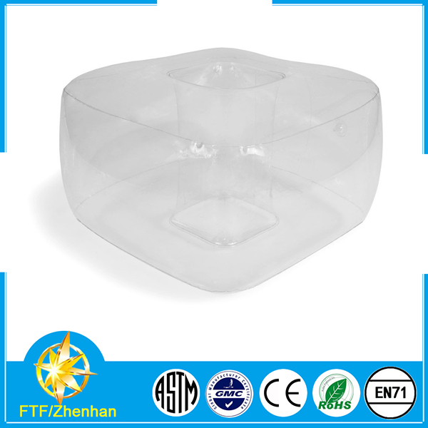 Inflatable Sofa Clear: Special Clear Inflatable Single Chair For Sale