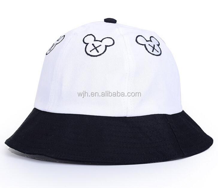 d80735a7a1c Plain White Cotton Bucket Hat Summer Fashion Bucket Hat - Buy Plain ...