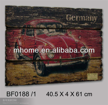 Amerikaanse Landelijke Stijl Rustiek Interieur Decoratieve Muur Auto ...