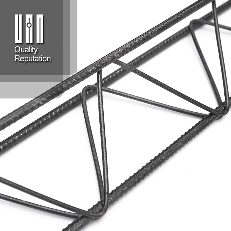 Viga de treliça de fio de aço para lajes de piso de concreto pré-fabricado