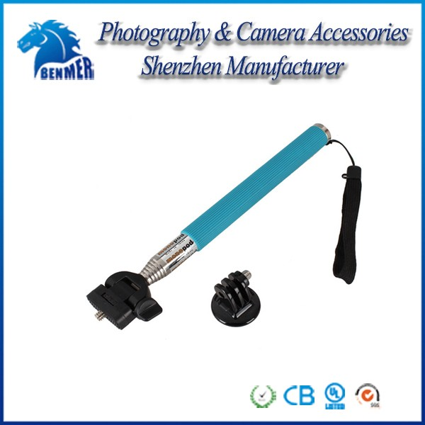 KingMa new Selfie Stick Extendable Handheld Monopod with Mount Adapter For GoPros HEROs 2, 3, 3+/4/5,