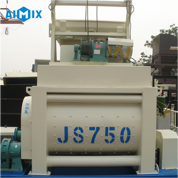 Top sale JS750 electric concrete mixers with price
