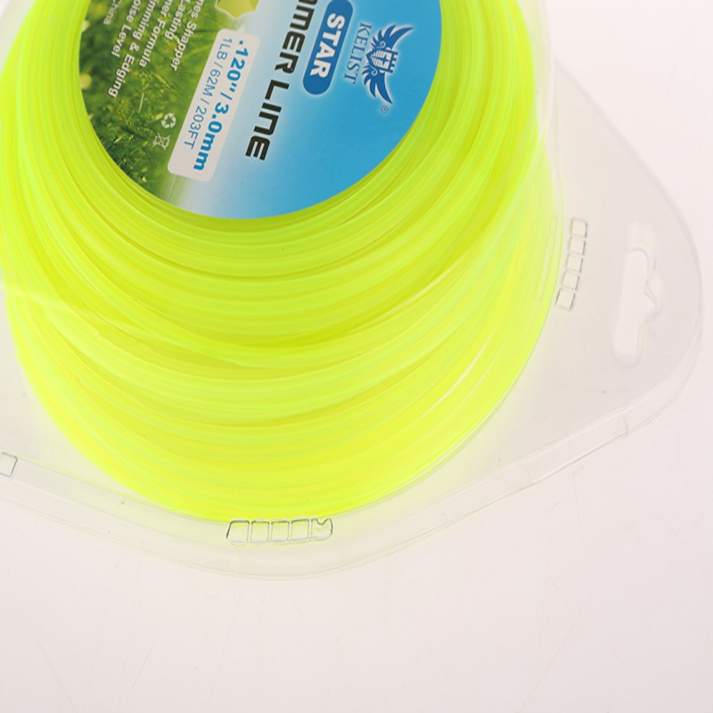 "ROUND x 2.4MM X 1LB GRASS TRIMMER LINE DIAM. 0.095"" X 2.4MM1.2MMX3.0MM ROLL SPOOL GRADE STRIMMER NYLON LINE"