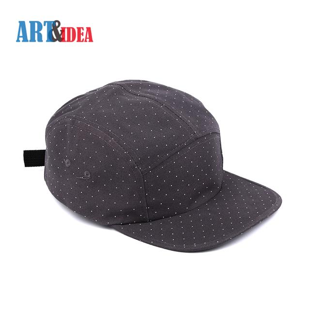 8ad3b6912677a Modern style professional custom grey cotton twill snapback hip-hop cap hat