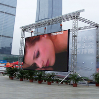 high tech smd waterproof custom size big screen outdoor led tv