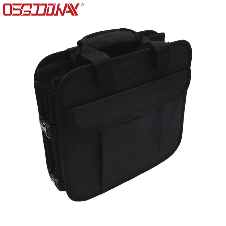 Osgoodway Wholesale Auto Durable Collapsible Portable Multi Compartments Insulated Backseat Trunk Organizer with Cooler Bag