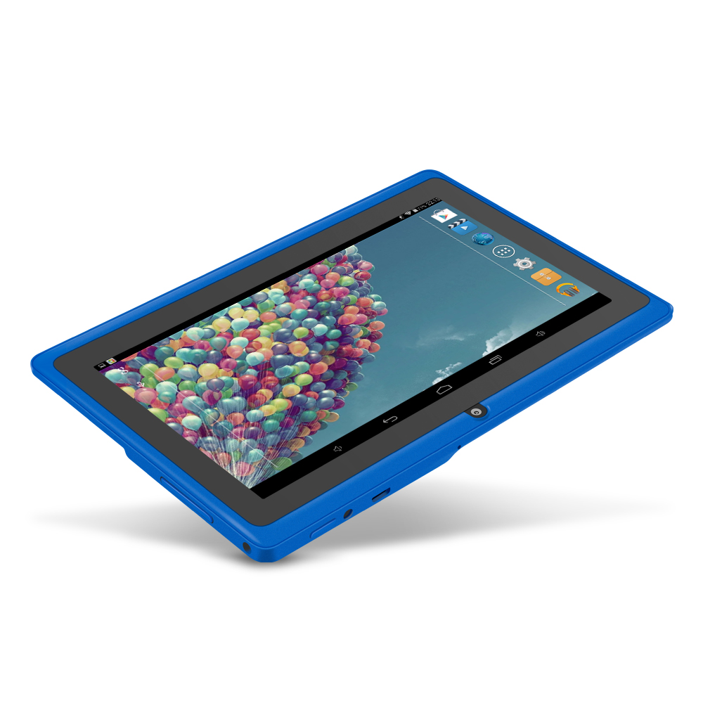 YUNTAB Blue android 4.4 children with wifi 7 inch tablet