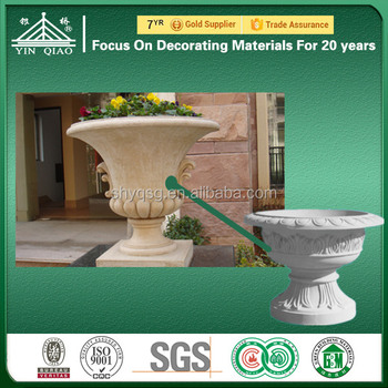 Outdoor Wall Decorative Customized Made GRC Cement Moulding