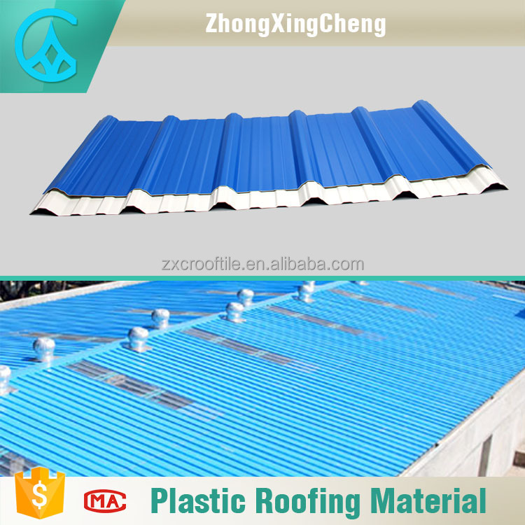 2 layers material ASA surface roofing sheets in kerala