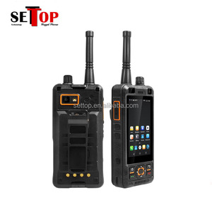 Low Cost 4G Mobile Phone UHF VHF 3.5 Inch torch cool Qwerty Keypad Android 5.1 Octa Core Dual SIM Big Battery 5000mah FM