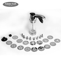 2019 New baking tools Cake decoration set Stainless steel Cake Decorating Pastry Icing Piping Gun