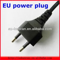 europe/french standard two-pin plug power cord VDE approved power supply cord 16A 250V