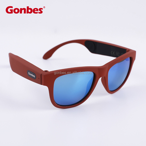 New Design Wireless Bone Conduction Bluetooth Sunglasses with Good Sound Quality