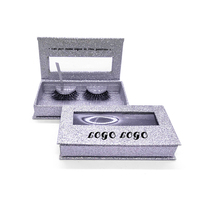 Shuying SY empty custom logo paper lash box square eyelash packaging eyelash boxes with window