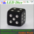 MCU control colorful LED gold-plating dice