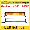 RGB color changed LED light bar 41.5 inch 240W