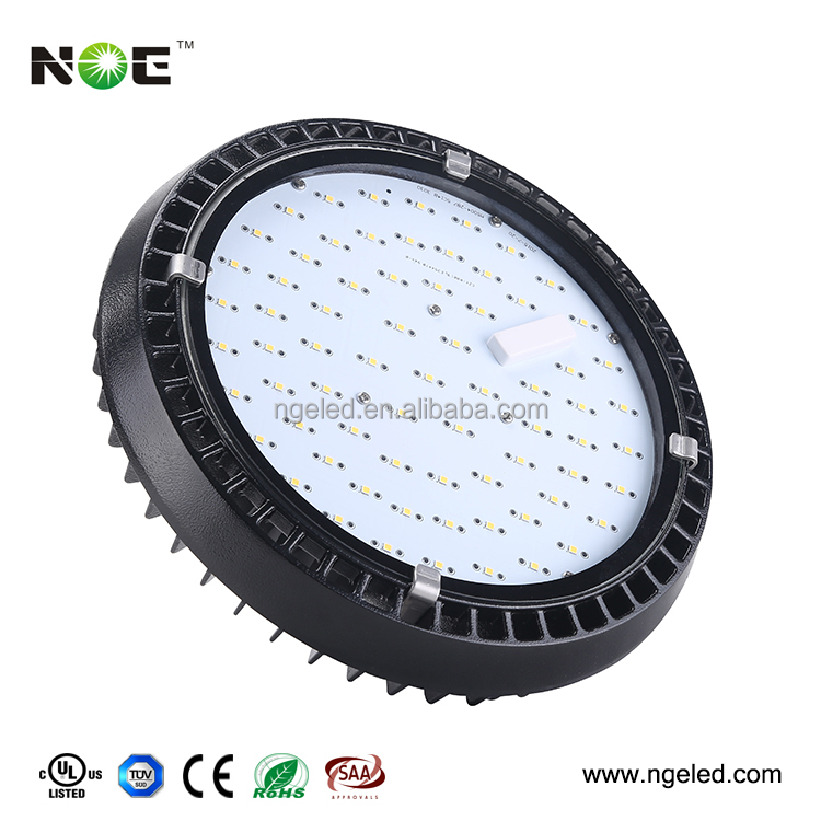 110lm/w round hibay light 200w highbay led industrial high bay