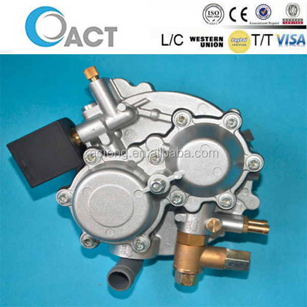CNG Conversion Of ACT-L EFI carburetor generators With Electrovalve