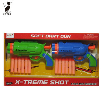 Safety Kids Favorite EVA foam Shooting Toy Soft Bullet Gun For Wholesale.