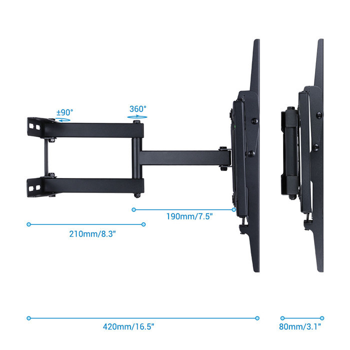 tilting tv wall mount instructions