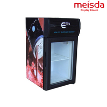 Bar 21L Display Refrigerator Cabinet With Top Lampbox