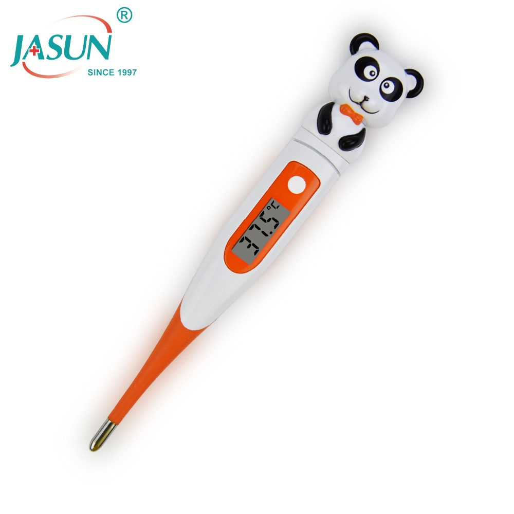 For Kids Celsius Mode with LCD Best Soft Flexible Probe(Bear) Baby Digital Thermometer