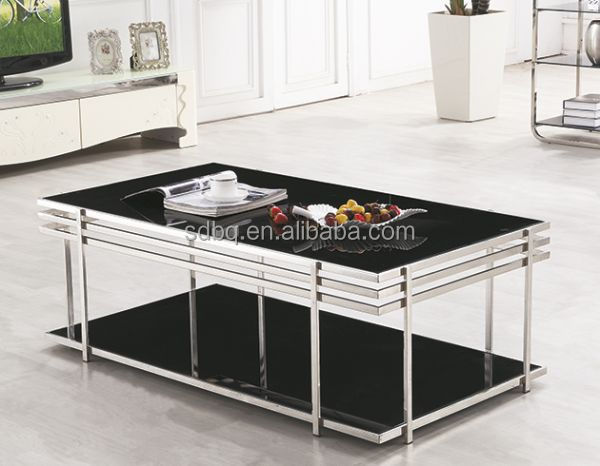 Pt-t014 Glass Top Centre Table Living Room Furniture Centre Glass ...