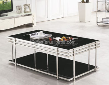 PT T014 Glass Top Centre Table Living Room Furniture Centre Glass Table  Glass Centre Table