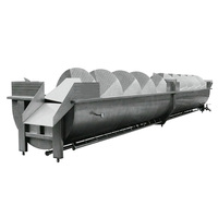 Spiral Precooling Pre-Chilling Machine For Poultry Slaughtering