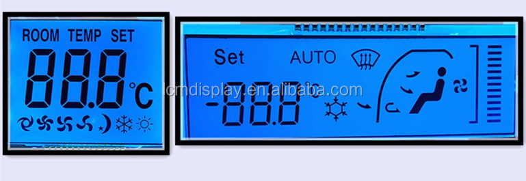 Monochrome Electric Controller Oled Transparent Lcd Display