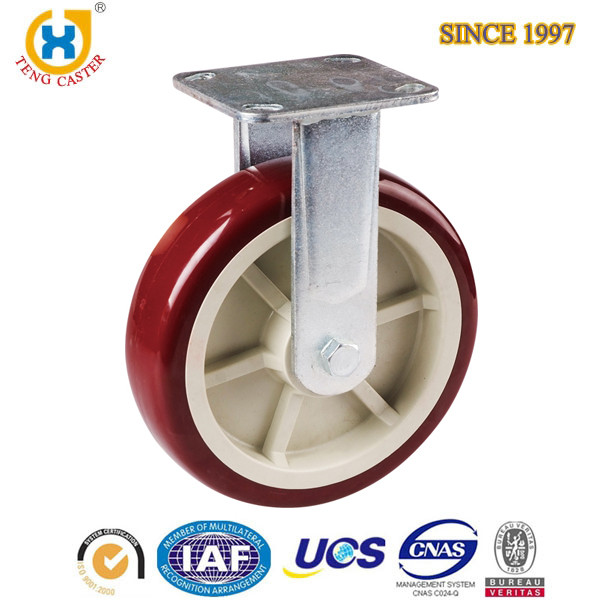 Swivel Ball Caster PU Roller Wheel Plastic Toy Wheel Casters