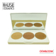 Free sample makeup cosmetics private label highlighter pressed powder mineral makeup highlight palette