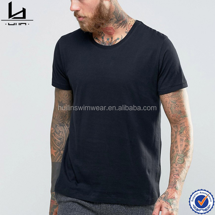 China supplier custom design wholesale 100% cotton crew neck plain mens t shirts