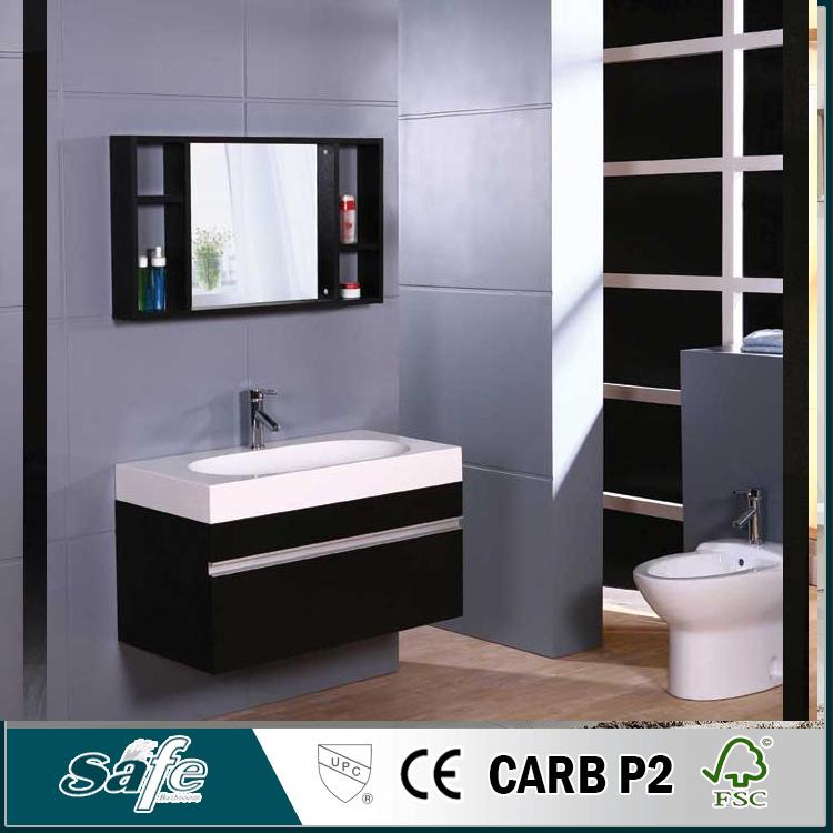 дешевые Ikea мебель для ванной комнаты продукты твердой древесины