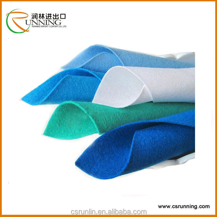 Non woven Geotextile, Polyester Flet, needle punched non-woven