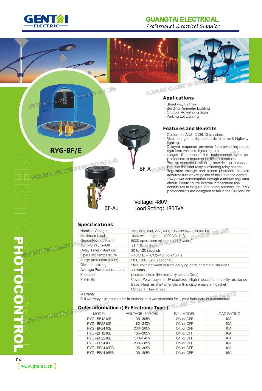 Lightsensor Photo Control Led Streetlight Photocell Sensor Lighting Photoelectric For Outdoor Lights Photocontrol Switch