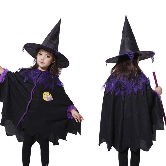 get quotations bat witch costume for girls halloween costume for kids girl cosplay costume witch girl kawaii lolita