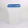Hot sale large capacity 20kgs 25kgs pet chow feeding bin with swing lid
