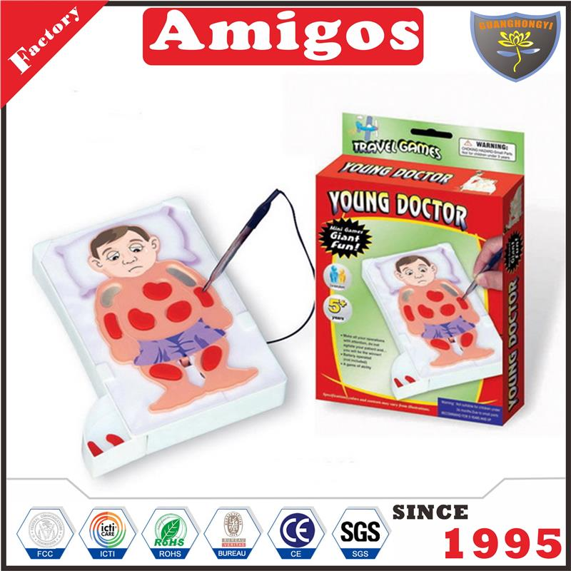 Guanghongyi toy Intelligent toys[young doctor] learning toy for child