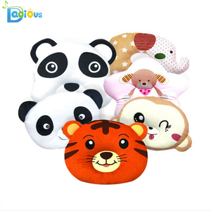 100 % Cotton Baby Head Shaping Pillow Soft Baby Wedge Pillow New Animal Baby Pillow