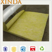 Building material thermal insulation aluminum foil sound proof glass wool roll