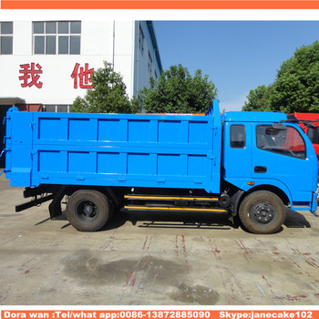 0ffeb4d861 China Made 6 Wheeler 4 Ton Dfac Dongfeng Small Dump Truck For Sale ...