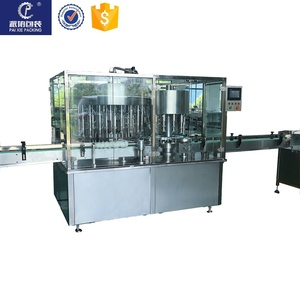 Stainless steel custom-made guar syrup filling and capping machine, saving time and convenience
