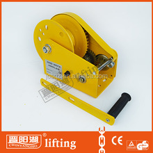 1200lbs hand operated winches for sale/manual hand winch
