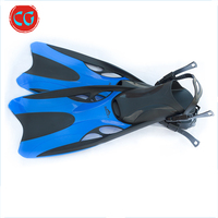 Comfortable Soft Silicone Sales Surfing Dive Long Swim Snorkel Fins