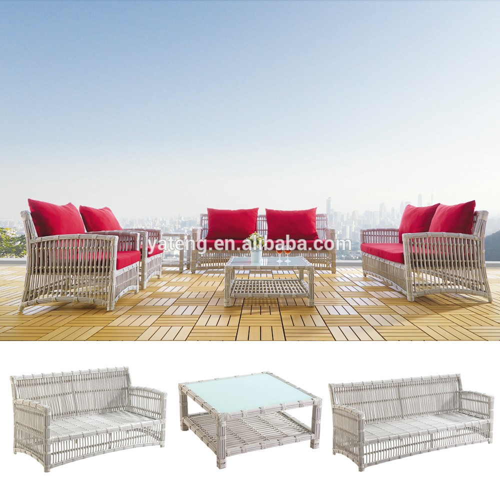 best seller wicker outdoor patio sofa set all weather garden furniture with cushion buy all. Black Bedroom Furniture Sets. Home Design Ideas
