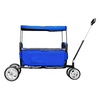 Easy to fold shopping cart folding beach wagon with cover