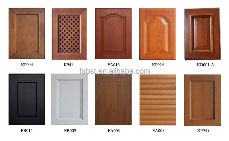 Sk006 Wood Veneer And Pvc Kitchen Cabinet Modern Kitchen Cabinet