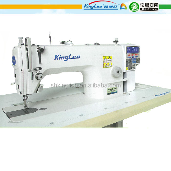 High speed direct drive single needle lockstitch sewing machine