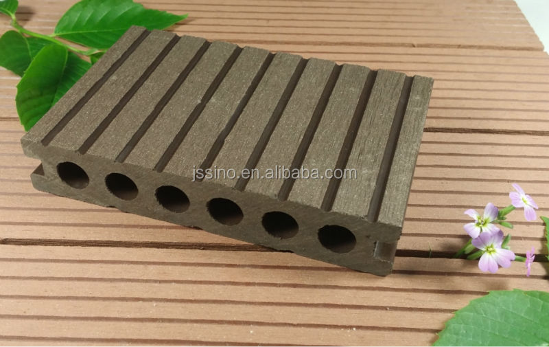 High Impact Resistance Wood Plastic Patio Floors